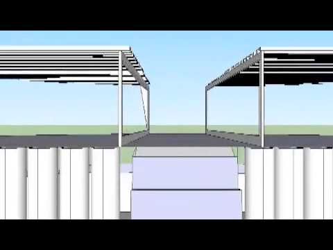 Geothermal Aquaponics greenhouse design
