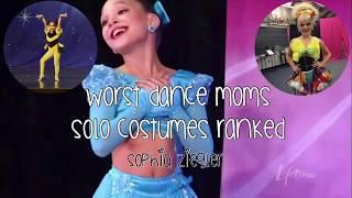 WORST DANCE MOMS COSTUMES