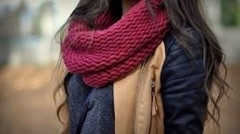 OUTFIT IDEAS: Combinaciones con gorros y bufandas / emdesign