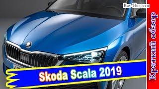 Авто обзор - Skoda Scala 2019 – новый хэтчбек Скала заменит Рапиду