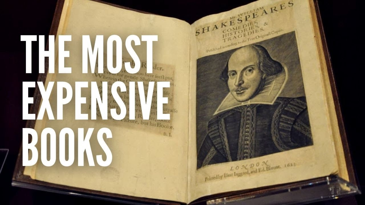 The Top 10 Most Expensive Books Ever Sold Youtube