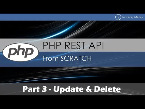 PHP REST API From Scratch: Update & Delete
