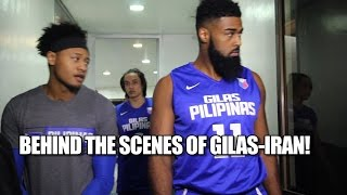 Behind the Scenes of Gilas-Iran!