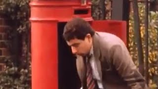 Mr Bean - Stuck in the Post Box !