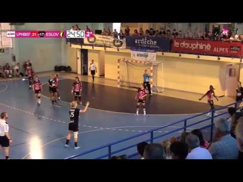 HANDBALL - Le Pouzin HB 07 contre ESLOV Suède