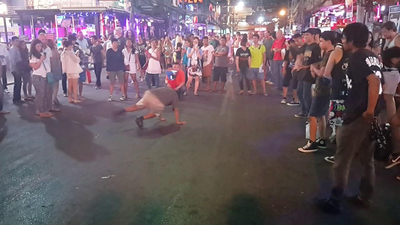 Ladyboys Dancing at SOI CROCODILE - Bangla Road, Patong