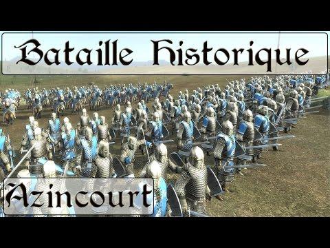 Medieval II : Total War : Bataille historique d'Azincourt