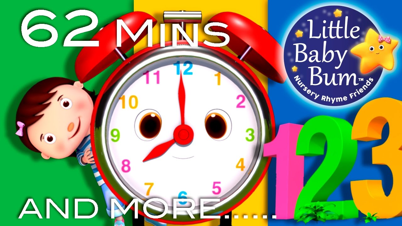Little Baby Bum | Telling Time Song | Nursery Rhymes for Babies | Songs for Kids #1