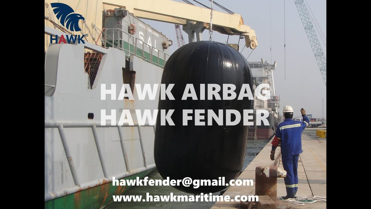 Hawk Fender | Hawk Maritime | Pneumatic Rubber Fender Show Case