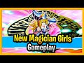 NEW MAGICIAN GIRLS IN ACTION!