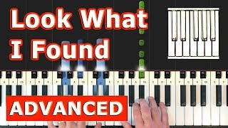 Lady Gaga - Look What I Found - Piano Tutorial Easy - (A Star is Born) - Sheet Music Video