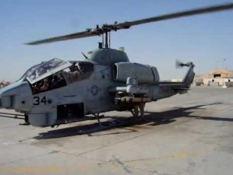 HMLA 775 AH-1W CASEVAC Scramble 1 IRAQ