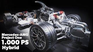 Mercedes AMG Project One Hypercar X1 Drivetrain