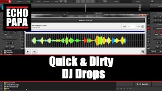 DJ Drops: Make your own with Virtual DJ 8