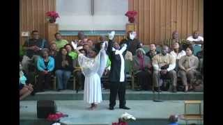 Praise Dance - The Prayer (Sun 12/30/12)