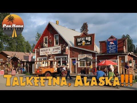 Rving Alaska: Exploring Talkeetna including 2 local festivals and a jet boat ride.