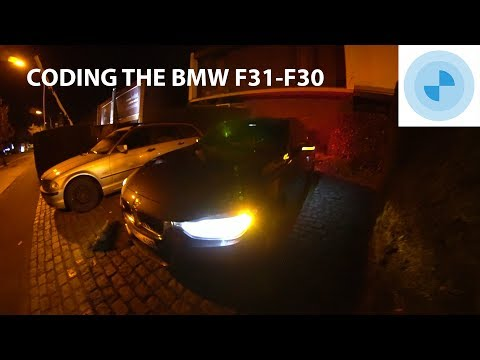 BMW F30 - F31 Coding with Bimmercode