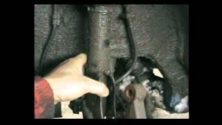 Geely MK - замена опоры стойки амортизатора.