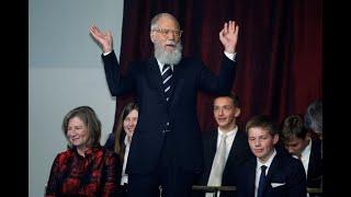 David Letterman awarded Mark Twain Prize for American Humor in Kennedy Center ceremony