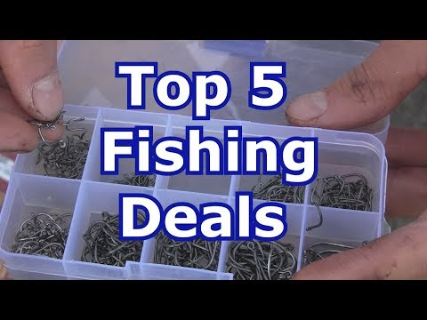 5 Best Cheap Fishing Deals: Gear, Equipment, and Tackle