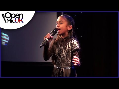 DEFYING GRAVITY performed by LEAH JEWEL at Open Mic UK Music Competition