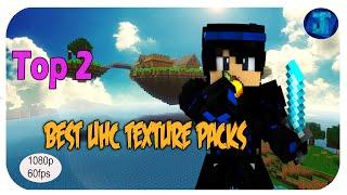 MineCraft Top 2 Best UHC Texture Resource Packs! 1.8 + 1.7