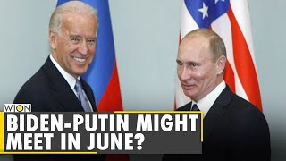 Reports say putin and biden may meet in june | us-russia tensions rise english world news wion