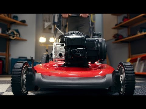 Here's the Easy Way to Tune Up Your Lawnmower | PopMech + Home Depot