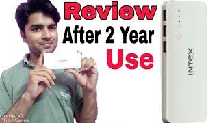Intex IT-PB11K 11000 mAH Power bank Full Review after 2 year of use
