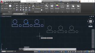Using the Group Manager to Set Up Groups in AutoCAD | AutoCAD: Tips & Tricks from LinkedIn Learning