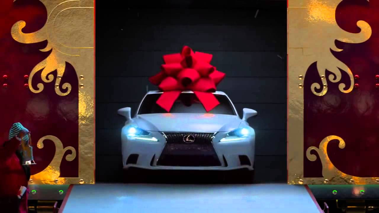 No Reindeer, Just Rails The Lexus December to Remember Commercial ...