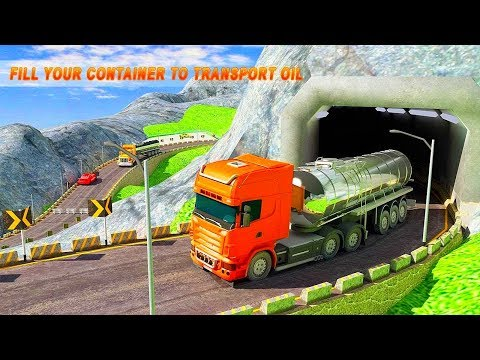 Oil Tanker Truck Driving Sim: Hill Side Transport | Best Android Gameplay HD