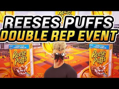 REESES PUFFS DOUBLE REP & VC PARK EVENT GAMEPLAY - FASTEST WAY TO REP UP IN MyPARK - BEST PLAYSHARP?