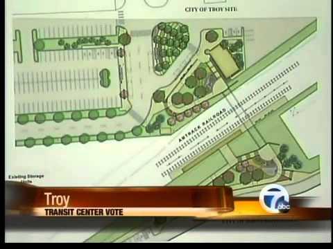 Troy transit center meeting
