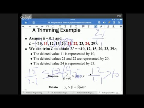 20160105 Computer Algorithms-Polynomial Time Approximation Scheme #24