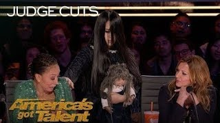Most Scary Act On America's Got Talent 2018