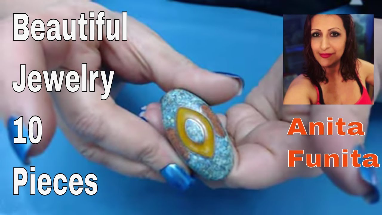 I Love Etsy List 10 Series, What's selling! Episode 30 Vintage Beauties, Gemstone lot for Resel