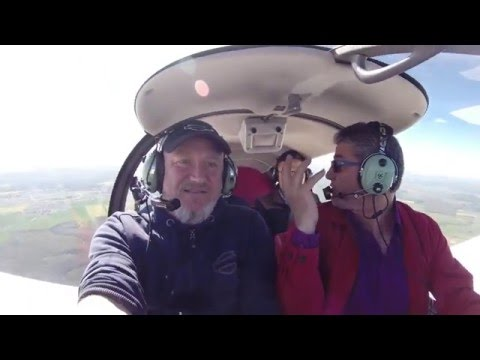 "Balade en  avion Francis G. Amaury R.  Mike L. Ciel en Lorraine 05 /05/16 ""3"""