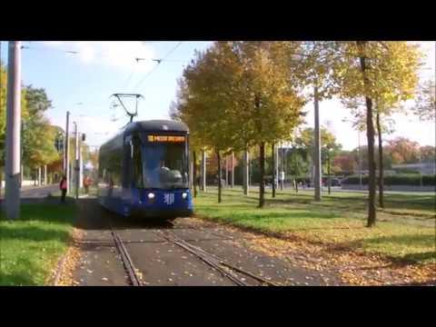 Dresden:   Straßenbahn-Linienführungen zum Dresden-Marathon 2016