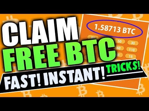 Claim Free Bitcoins FAST And INSTANT