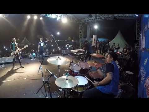 [drumcam] Andra And The Backbone Jalanmu Bukan Jalanku Live