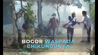 Belasan Warga Terserang Chikungunya di Bandung.