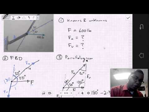 MECH 1321: Statics - Chapter 2.1-2.3 Examples