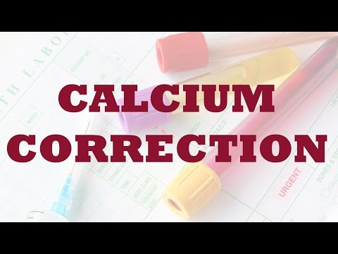 Corrected Calcium: Equation and Explanation