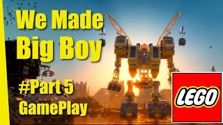 Lego Movie Gameplay - Part 5 (Make big boy)