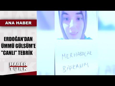 Cumhurbaşkanı Erdoğan, Türkiye'nin Konuştuğu Ümmü Gülsüm Ile Sohbet Etti