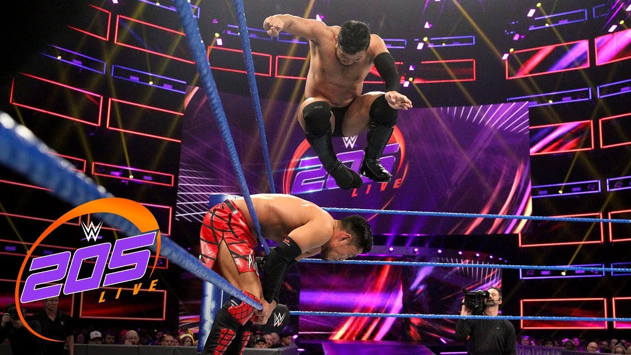 Akira Tozawa vs. Hideo Itami: WWE 205 Live, Jan. 29, 2019