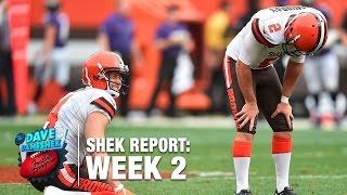 Top 5 Fails (Week 2)   The Shek Report   NFL