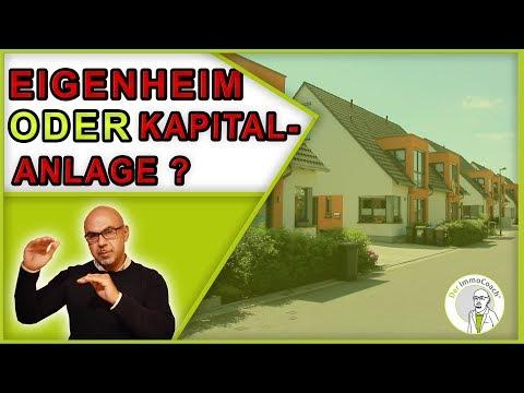 Kapitalanlage Oder Eigenheim 2019 Kaufen? Der ImmoCoach