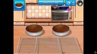 Cooking Game Video-sara's Cooking Class  Chocolate Cake
